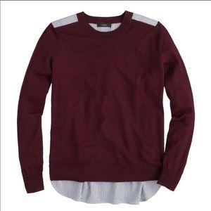 J. Crew Sweaters - J. Crew Mixed Media Merino Sweater XS